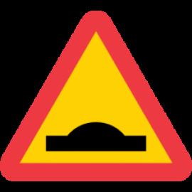 Trafikskylt - Farthinder