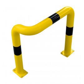 Påkörningsskyddsbåge -Solid- enkelsidig, fördjupat utförande, Ø 76 mm