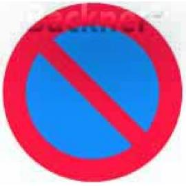 Förbudsskylt, Parkering förbjuden, Ø 600 mm