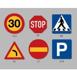 PREMARK® - Trafiksymboler (Flera storlekar)