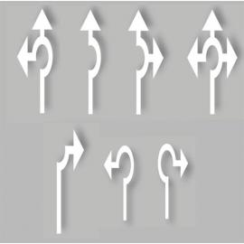 PREMARK® - Symbol (Rondell pilar, olika storlekar)