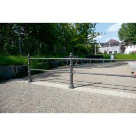 City Fence -Amsterdam- (Post & Railing system)