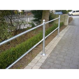 City Fence -Basel- (Post & Railing system)
