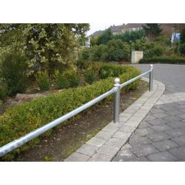 Knee Rail -Public- (Post & Railing system)