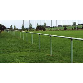 Football Pitch Spectator Barrier -Steel-