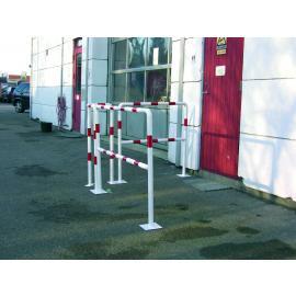 Skyddsräcke - XL Röd/vit