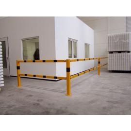 Skyddsräckessystem -Brooklyn-, Stålrör 70x70 mm (modulärt)