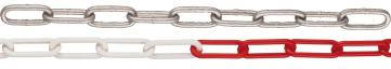 Avspärrningskedja i stål, Ø 5 mm, svetsad (10m)