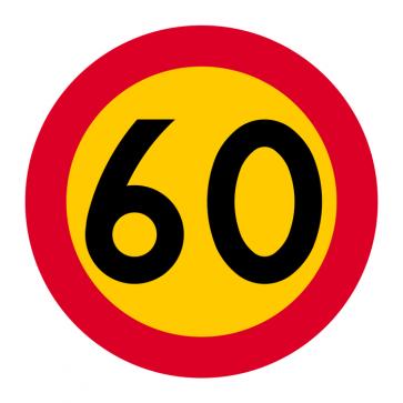 C31-6 Hastighetsbegränsning (60km/h)