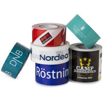 Avspärrningsband Premium med tryck (2-färgstryck)