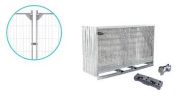 Byggstängsel Premium Förstärkt - Komplett paket (105m)
