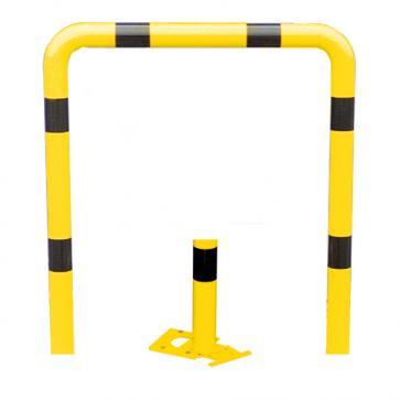 Påkörningsskyddsbåge -Solid- Ø 76 mm, löstagbar att fästa med bultar, olika storlekar