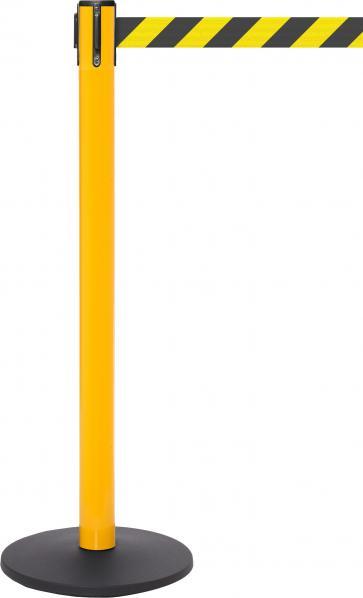 FlexiBarrier Avspärrningsstolpe -Safety Pro 490- (4,9 m band)