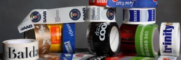 Avspärrningsband i plast med tryck