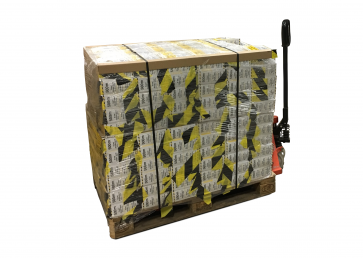 Avspärrningsband Premium - 500m x 264st rullar (Helpall)
