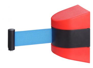 Väggkassett Basic Röd med eget tryck (2m-10m)