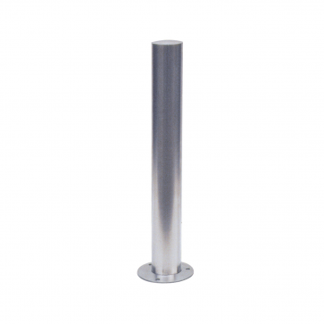 Rostfria stålpollare Ø 60 mm-102mm, bultfäste
