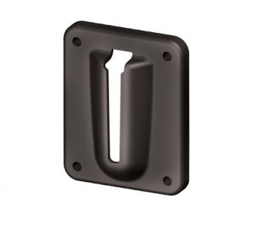 Väggfäste för -Skipper- utdragbara band (skruv + magnetfäste)