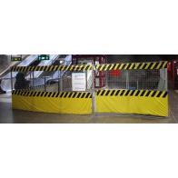 Varningsmarkering - Byggstängsel