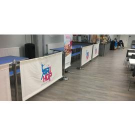 Cafe Banner -1 meter- (Komplett paket inklusive valfritt tryck)