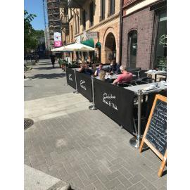 Avgränsningsystem -Cafe Premium-