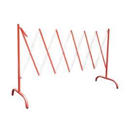 Flexibarrier -Dragspelsgrind- med fot (2.5m)