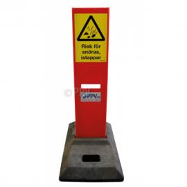 Vak-upp -risk för snöras/istappar-