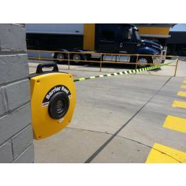 Einziehbare Sicherheitsbarriererolle - Hochleistungsgurt mit Haken (15-25 m)