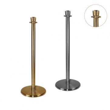 Flexibarrier Post & Rope Barrier -Premium Crown Top-