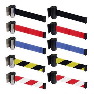 FlexiBarrier Wall Mounted Barrier -Economy- (2.3 - 4.5m belt)