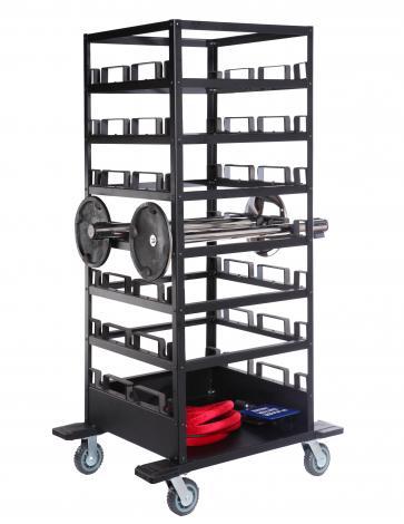 18 Post Storage Cart