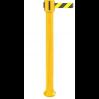 FlexiBarrier Belt Stanchion -SafetyPlus Fixed- (3.4m/4.9m/10.6m belt)