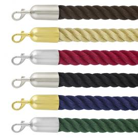 Barrier rope -Premium- with snap-ends
