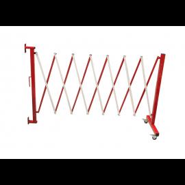 Flexibarrier -Expanding Barrier- Wall mounted with castors (3.6m)