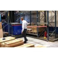 Barriera Flexibarrier con montaggio a parete -Basic 450- (nastro da 4,5 m)