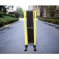 FlexiBarrier -Puerta de acordeón con ruedas (3,6 m)