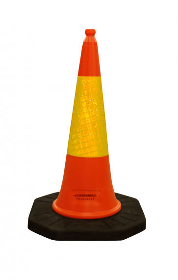 Trafikkjegle Standard 100 cm