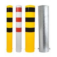 Sikkerhetspullert -Ekstra- til støping i betong (Ø108-273mm)