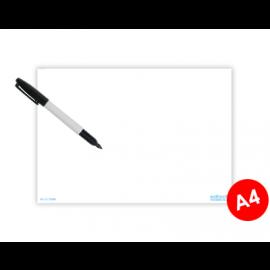 Whiteboard A4 til informasjonsskilt