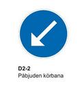 Pil Vänster (D2-2)