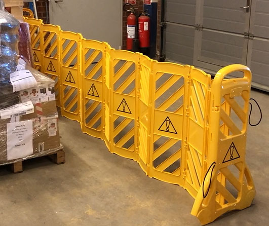 Flexible barrier - (4m)