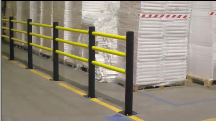 Assembly video - Flexible Pedestrian Barrier -Delta-